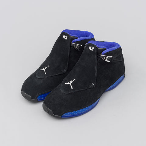 Jordan Air Jordan 18 Retro in Black/Royal - Notre