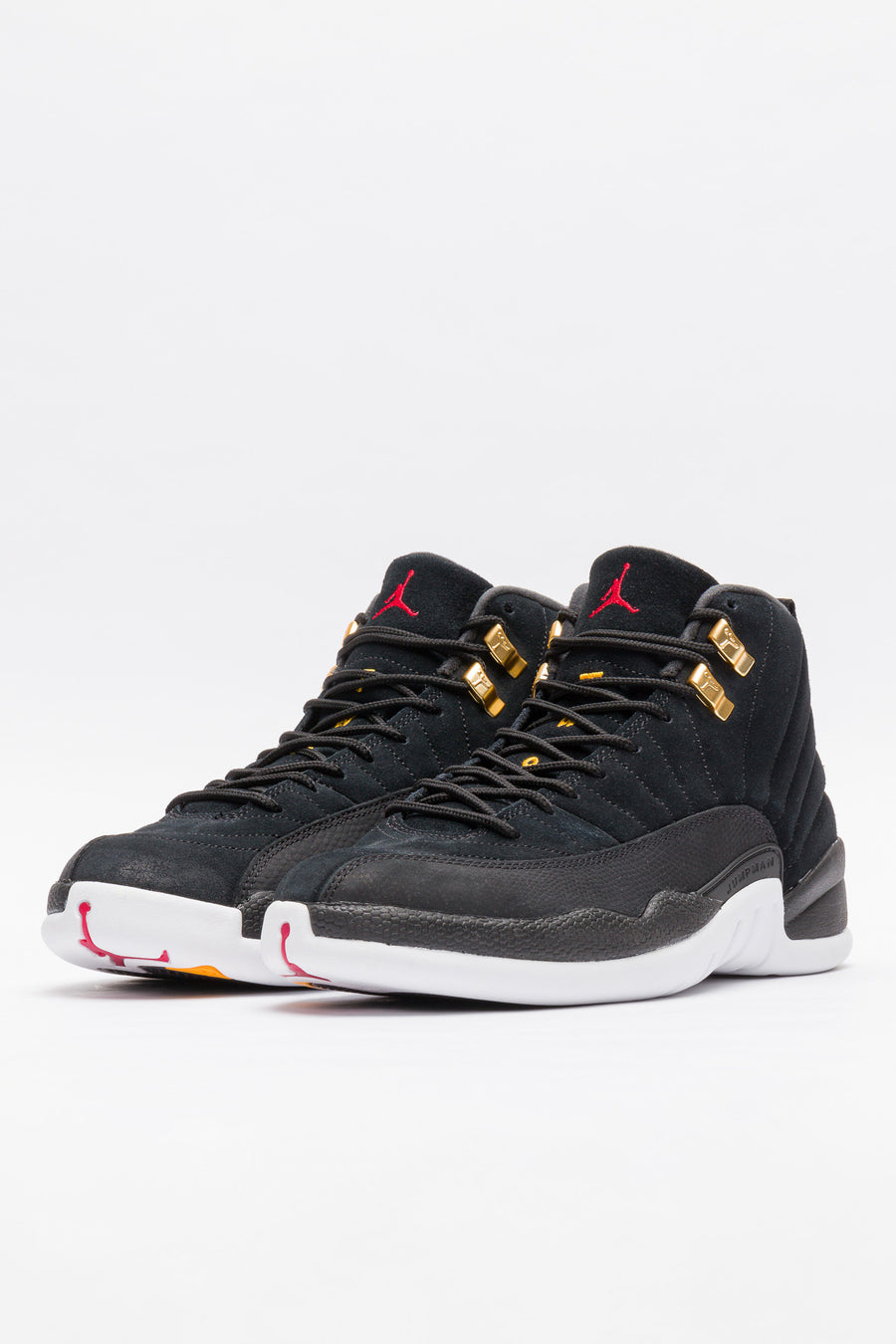 Jordan Air Jordan 12 Retro in Black/White/Taxi - Notre
