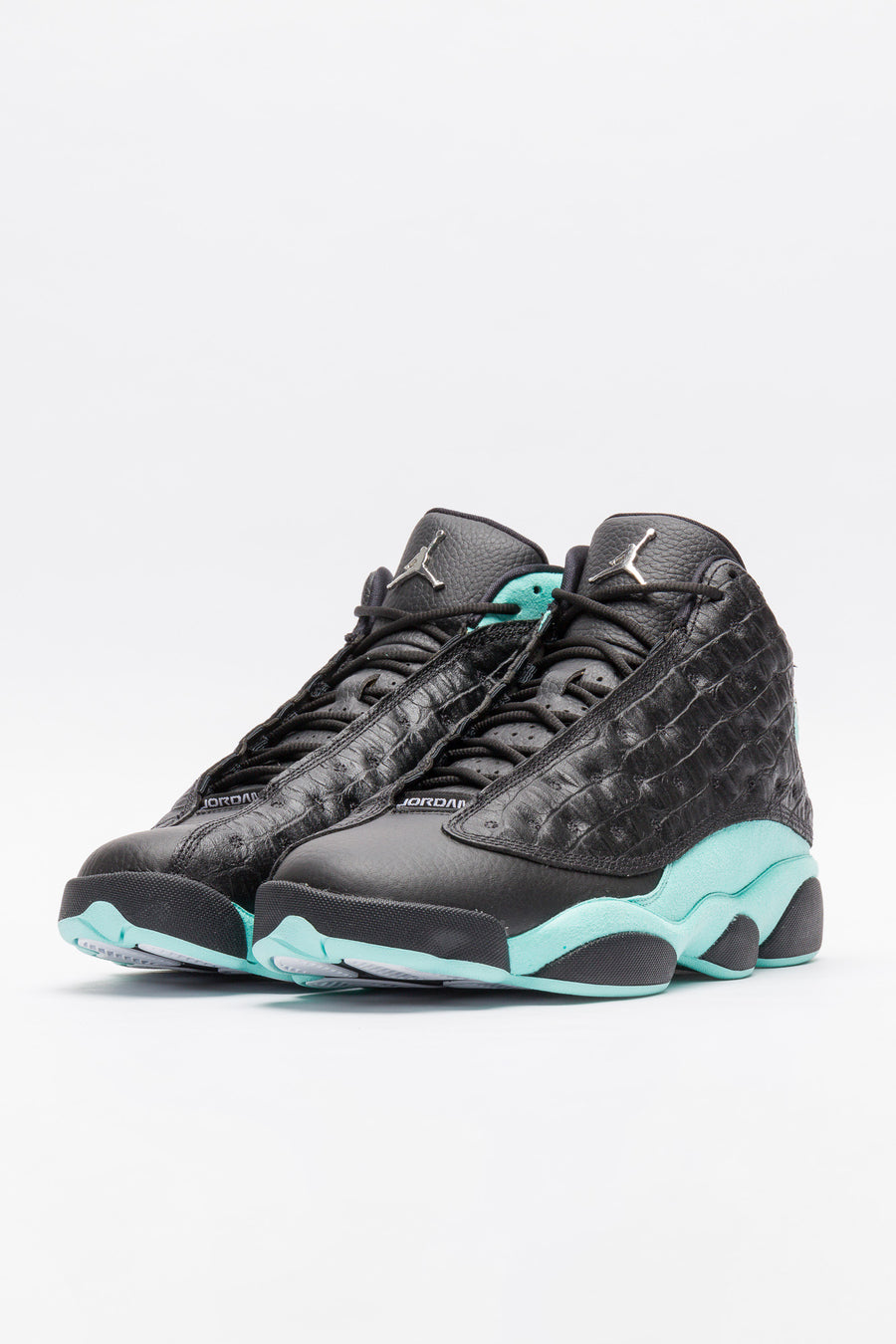 Jordan Air Jordan 13 Retro in Black/Island Green - Notre