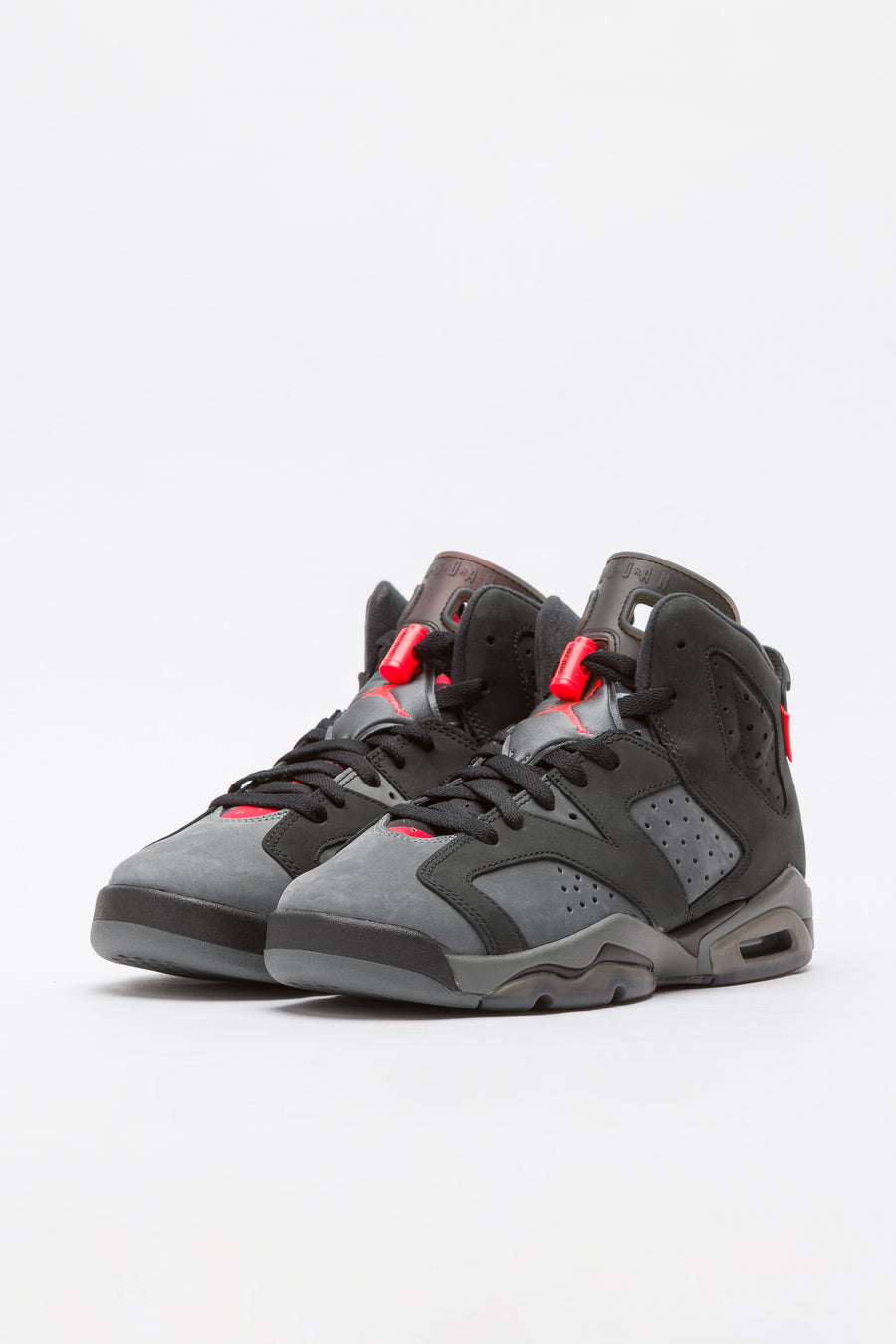 Jordan Air Jordan 6 Retro Paris Saint-Germain Big Kids in Grey/Black - Notre