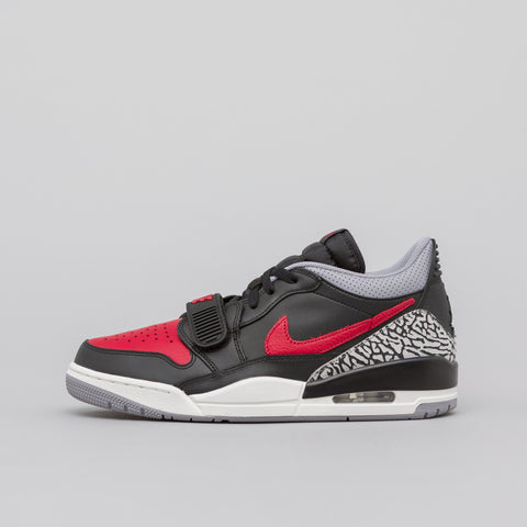Jordan Air Jordan Legacy 312 Low in Black/Varsity Red - Notre