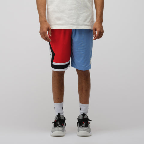 Jordan DNA Distorted Shorts in Blue/Red - Notre