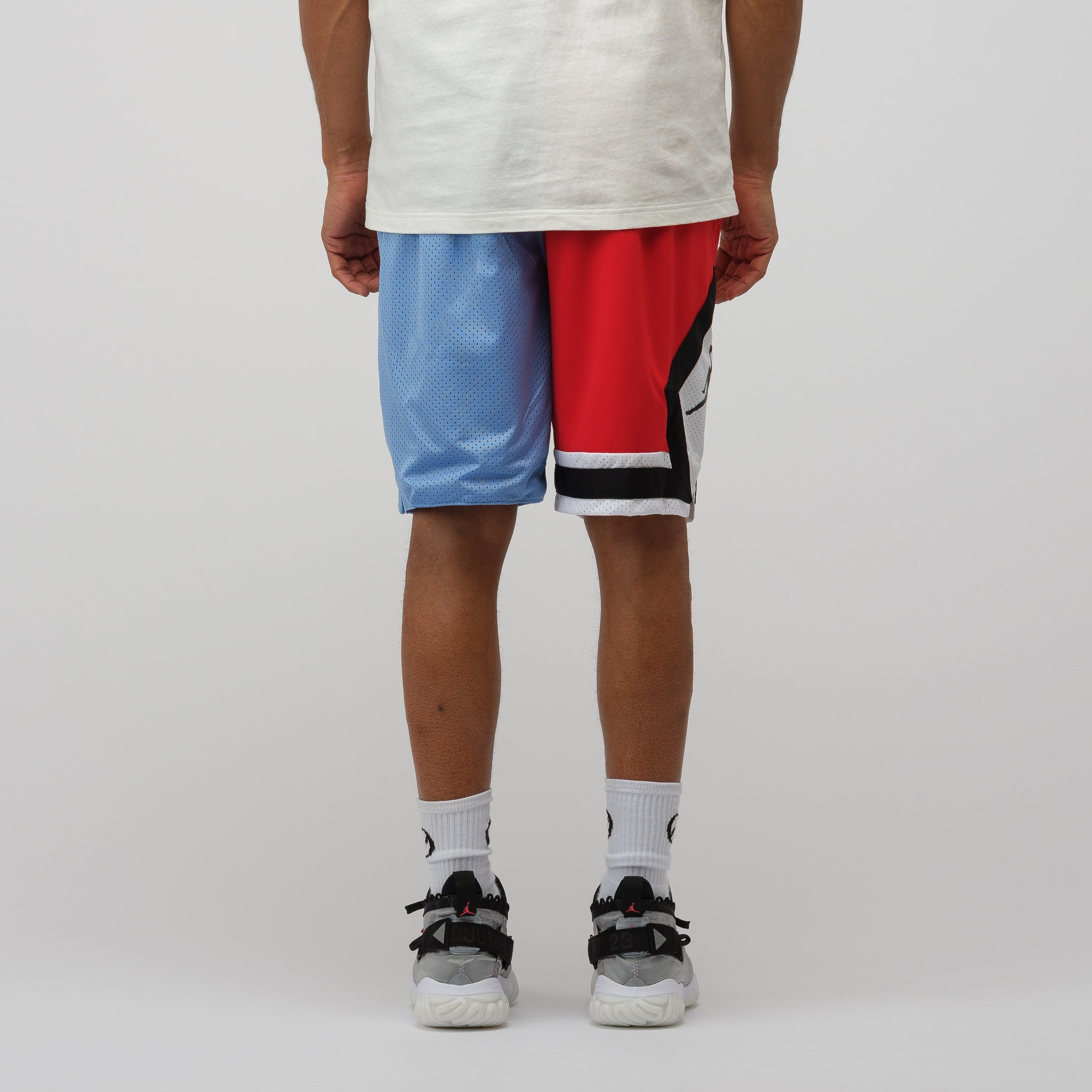 a2f2bcb2a5e710 Jordan DNA Distorted Shorts in Blue Red
