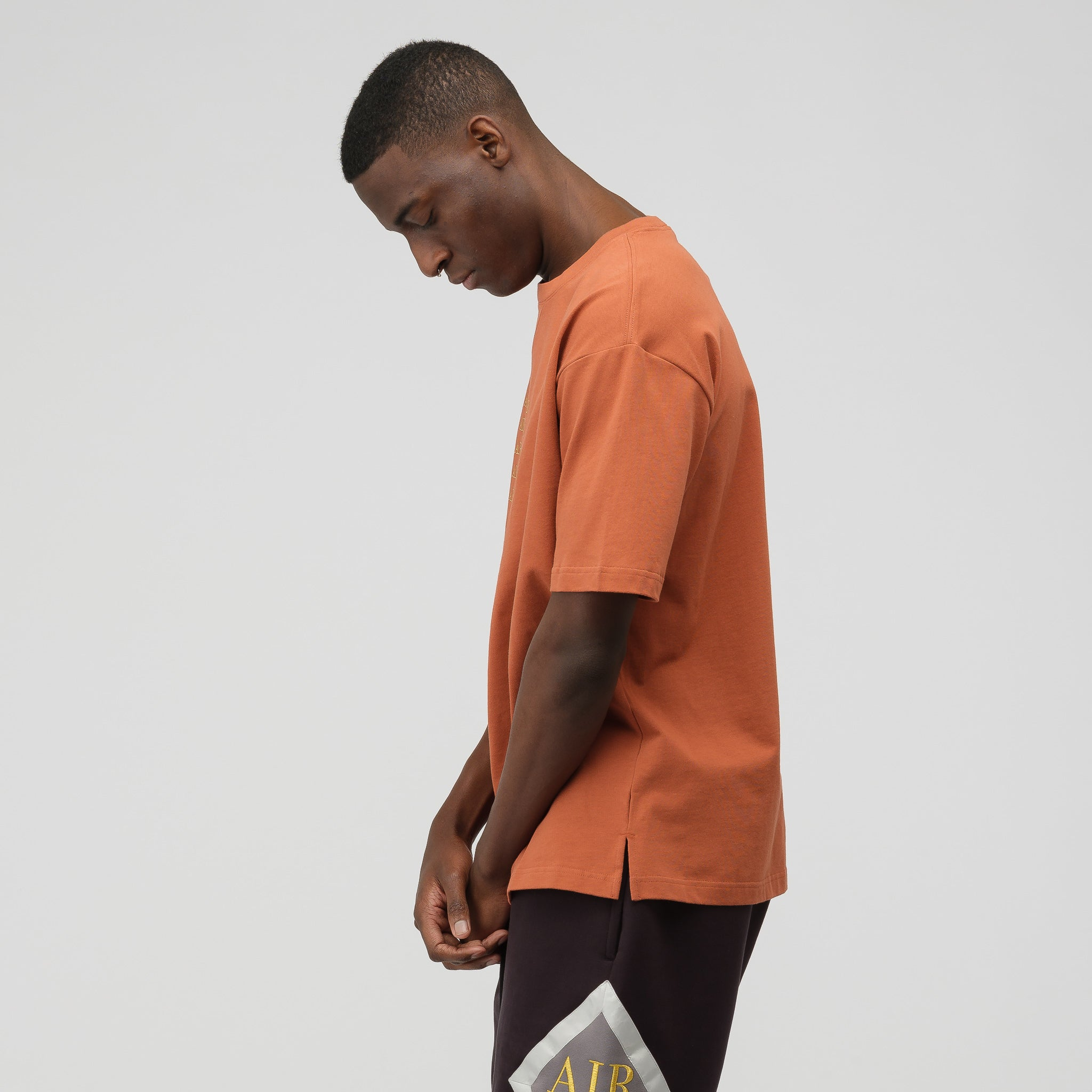 Remastered Crewneck T-Shirt in Dusty Peach