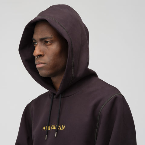 Jordan Remastered Hoodie in Black - Notre