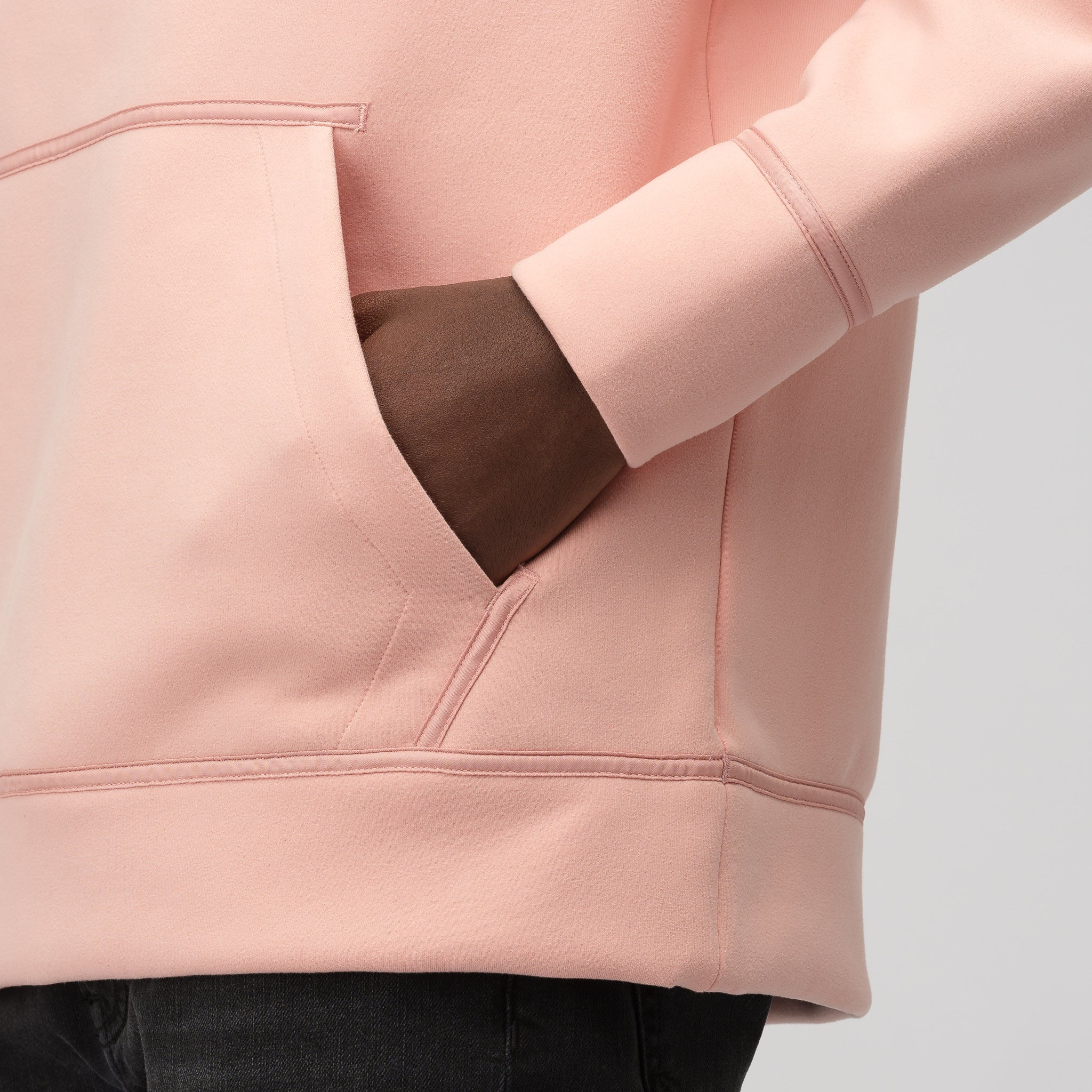 Remastered Hoodie in Coral Stardust