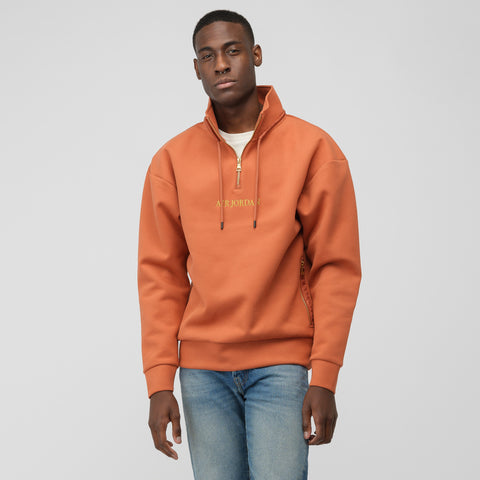 Jordan Remastered Zip Top in Dusty Peach - Notre