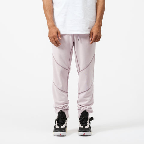 Wings Fleece Loop Pant in Iced Lilac