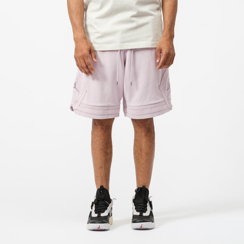 Jordan Wings Washed Fleece Short in Iced Lilac - Notre
