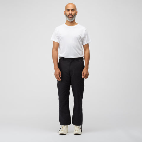 Junya Watanabe Polyester Fatigue Pant in Black - Notre