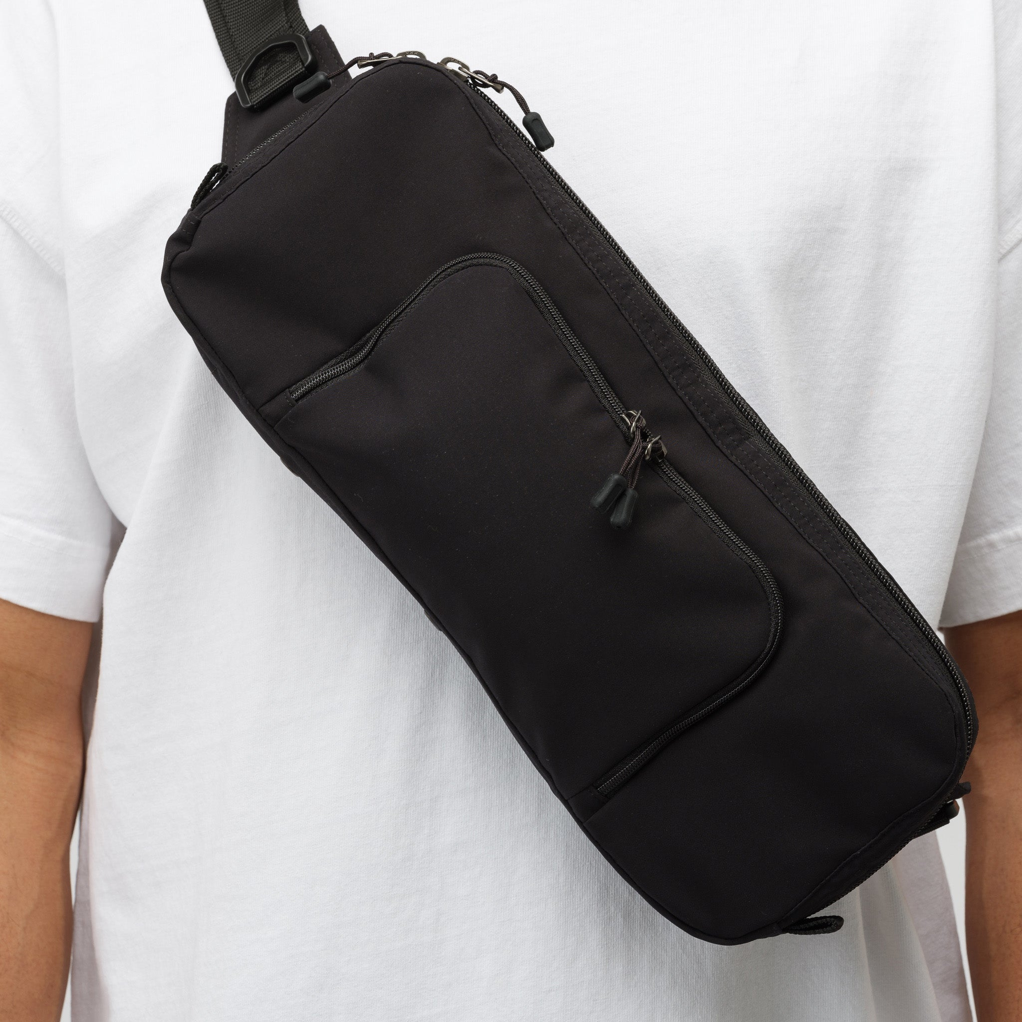 Waist Pouch in Black