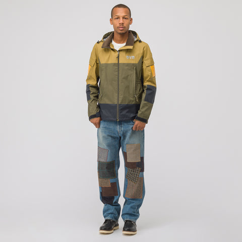 Junya Watanabe Color Block Jacket in Olive - Notre