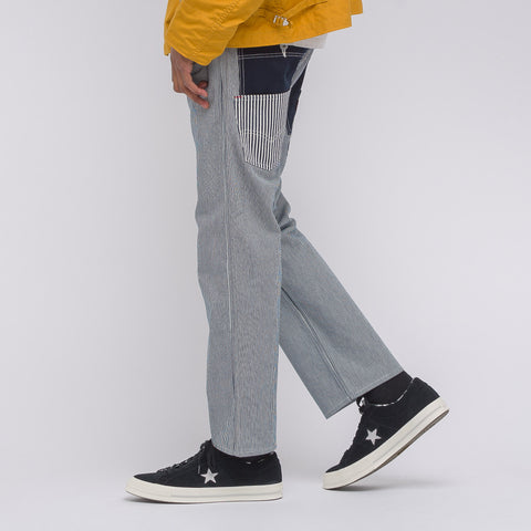 Junya Watanabe x Levi's Cotton Work Pants in Blue/White - Notre