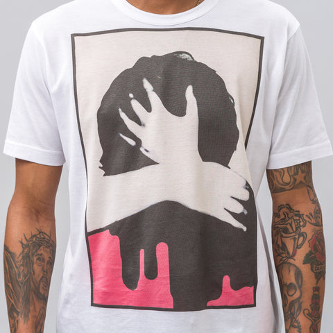 Junya Watanabe Make Out T-Shirt in White - Notre