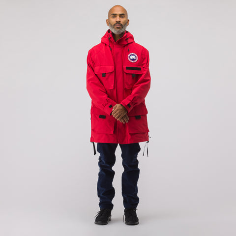 x Canada Goose Science Jacket in Red