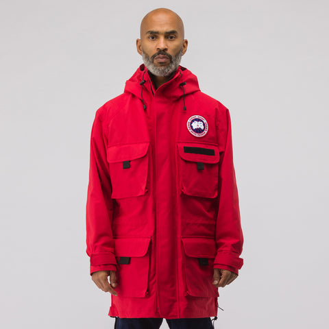 Junya Watanabe x Canada Goose Science Jacket in Red - Notre