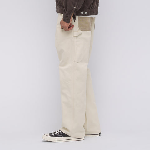 Junya Watanabe x Carhartt Work Pant in White/Cream - Notre