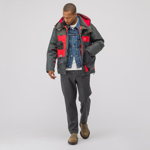 Junya Watanabe x Karrimor Jacket in Grey/Red - Notre