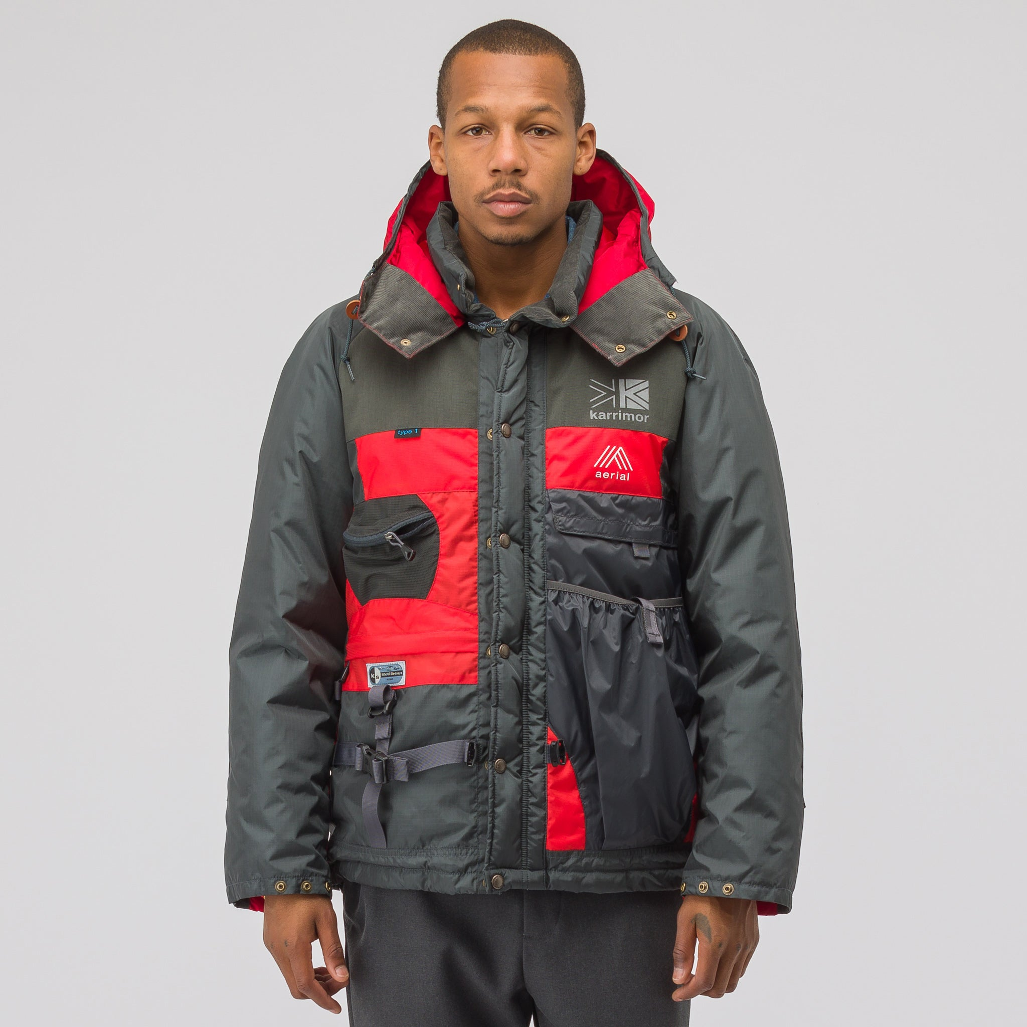 x Karrimor Jacket in Grey/Red