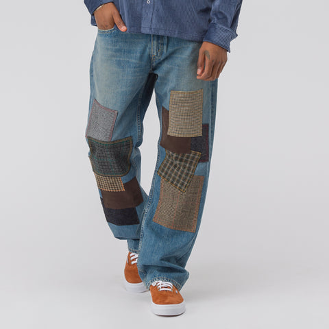 Junya Watanabe x Levi's Patchwork Jean in Blue - Notre