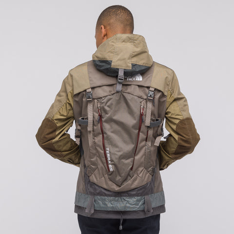 Junya Watanabe x The North Face Hooded Jacket in Olive/Tan/Grey - Notre