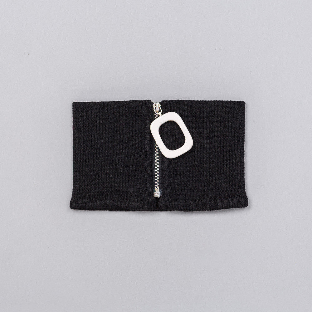 J.W. Anderson Neckband with Zip in Black Notre 1