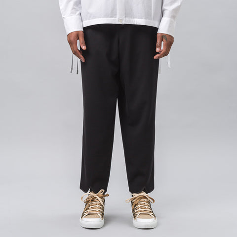 J.W. Anderson Back Pleat Trouser in Black - Notre