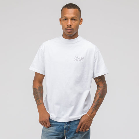 KAR / L'Art de L'Automobile Classic KAR T-Shirt in White - Notre