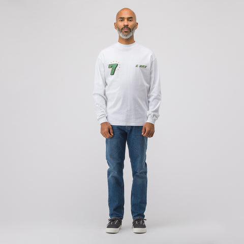 KAR / L'Art de L'Automobile KAR GT Graphic Long Sleeve T-Shirt in White - Notre