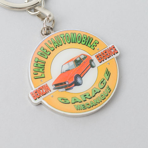 KAR / L'Art de L'Automobile Golf Garage Keychain - Notre