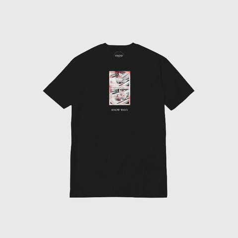 Know Wave Black Jack T-Shirt in Black - Notre