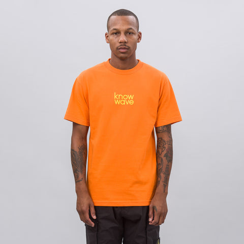 Know Wave Balanced Short-Sleeve T-Shirt in Orange - Notre