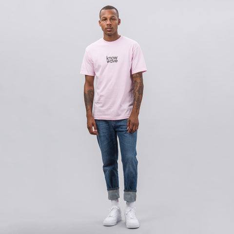 Balanced Short-Sleeve T-Shirt in Pink