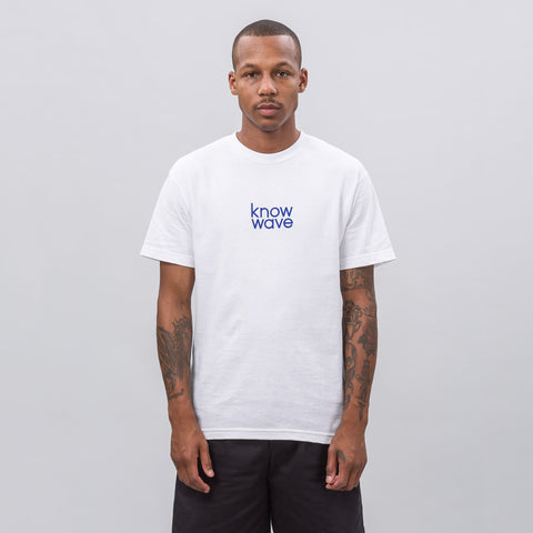 Know Wave Balanced Short-Sleeve T-Shirt in White - Notre