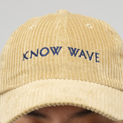 Know Wave Corduroy Hat in Beige - Notre