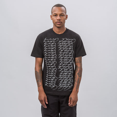EKG Short Sleeve T-Shirt in Black