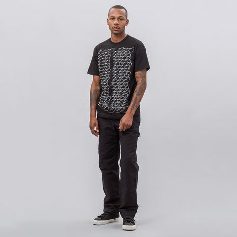 Know Wave EKG Short Sleeve T-Shirt in Black - Notre