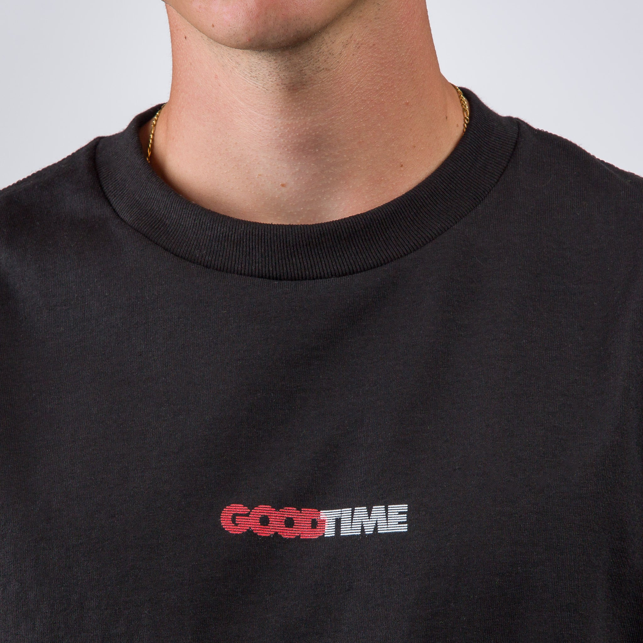 Good Time Logo T-Shirt in Black