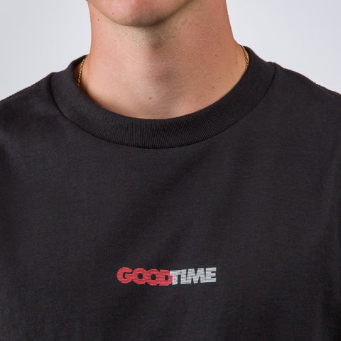 Know Wave Good Time Logo T-Shirt in Black - Notre