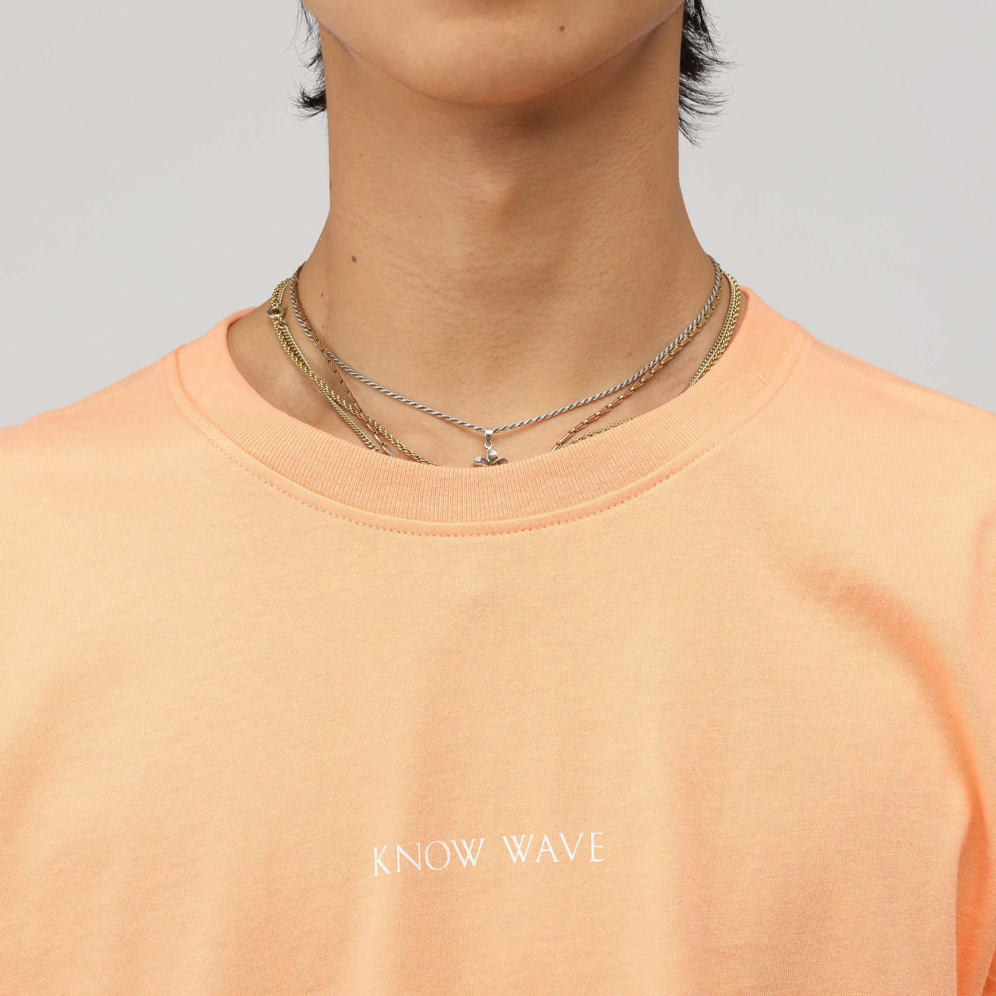 Imprint Logo T-Shirt in Ochre