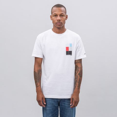 Know Wave Intervals T-Shirt in White - Notre