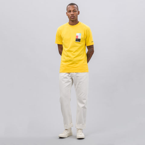 Know Wave Intervals T-Shirt in Yellow - Notre