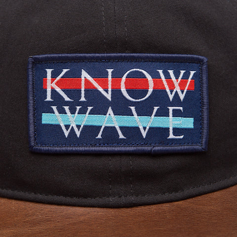 Know Wave Know Wave Logo Cap in Black - Notre