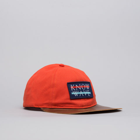 Know Wave Know Wave Logo Cap in Orange - Notre