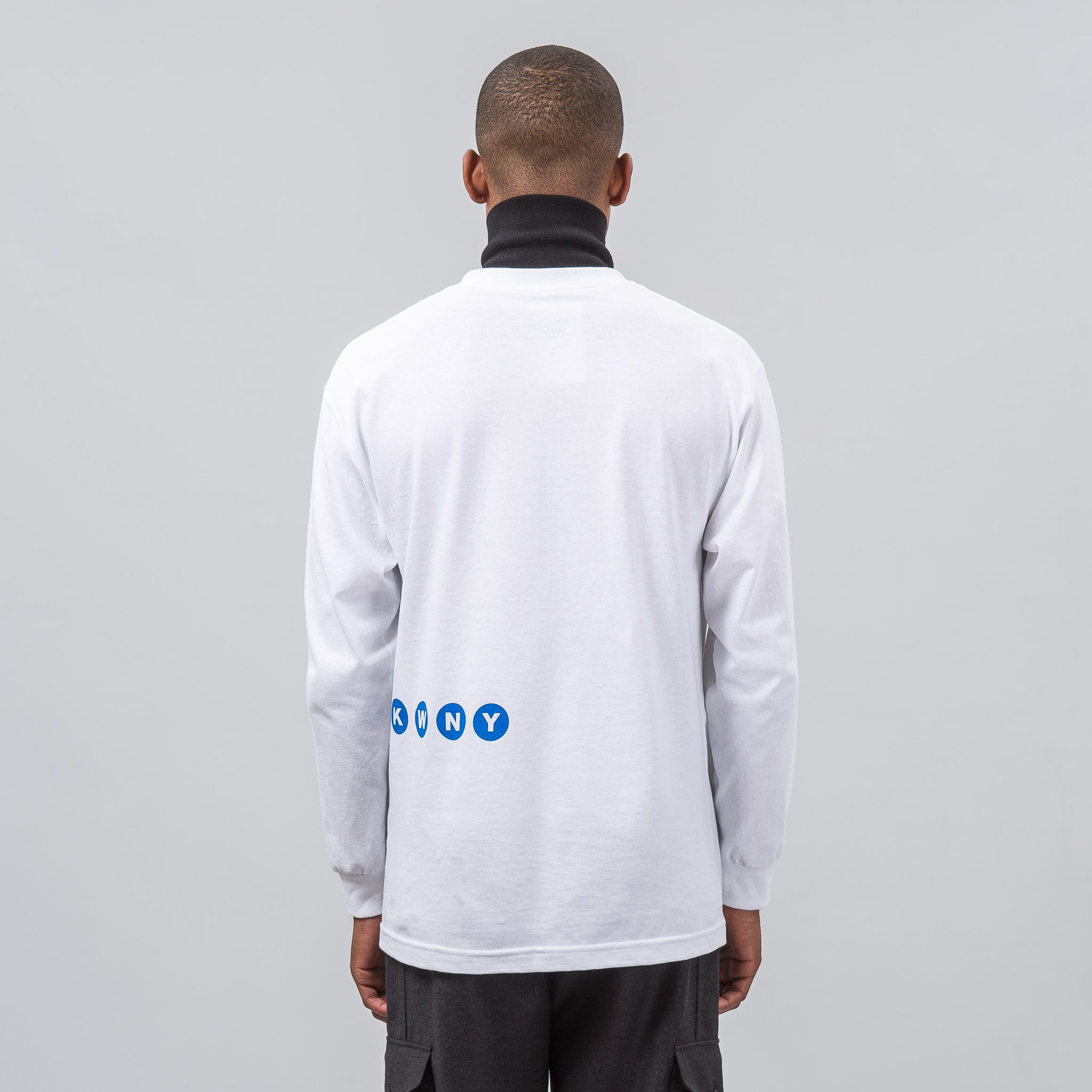 Public Long Sleeve T-Shirt in White