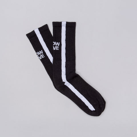 Know Wave Memes Socks in Black/White - Notre