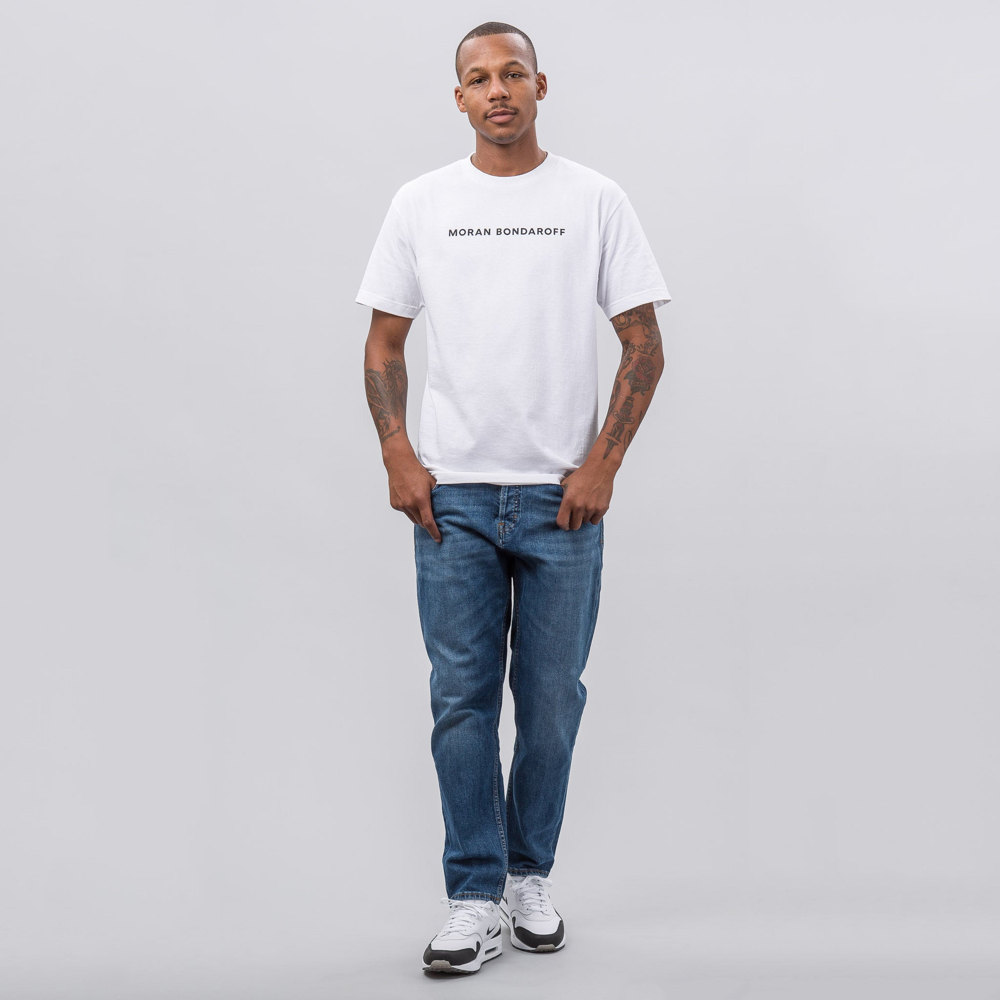 The Gallery Tee in White