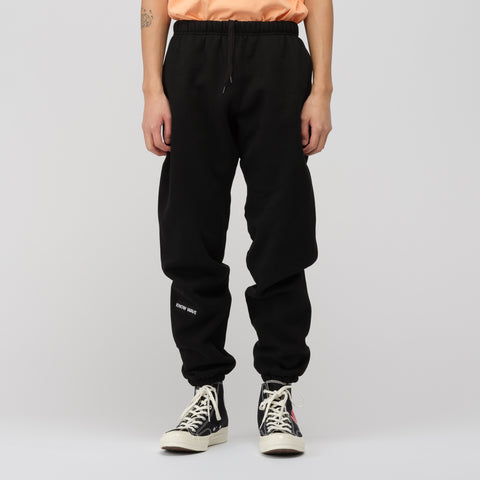 Know Wave Up By Three Sweatpants in Black - Notre