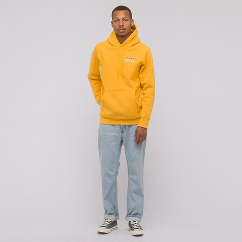 Know Wave Wavelength P/O Hoodie in Saffron - Notre