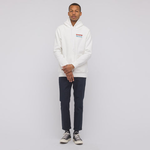 Know Wave Wavelength P/O Hoodie in White - Notre